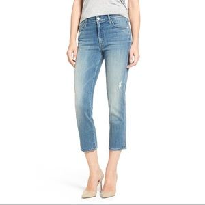 Mother High-Waisted Rascal Crop